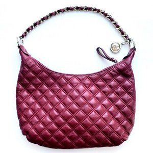 The Sak Pink Label Quilted Leather Chain Purse